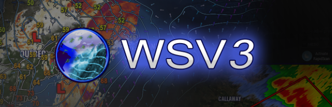 WSV3 - The next generation in PC weather software.